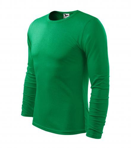 Fit-T LS triko pánské středně zelená