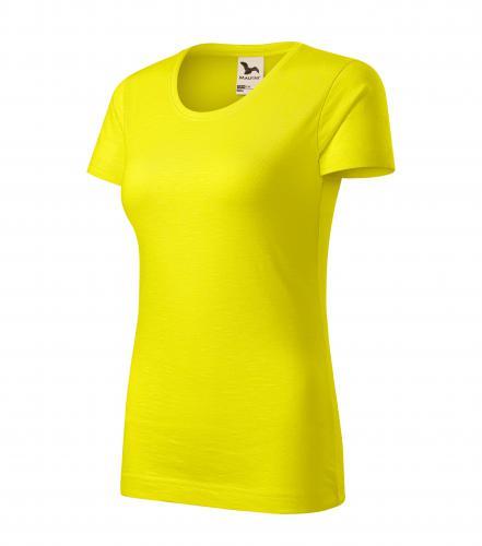 Native tričko dámské citronová