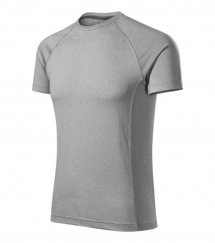 Destiny tričko pánské tmavě šedý melír