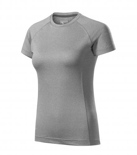 Destiny tričko dámské tmavě šedý melír