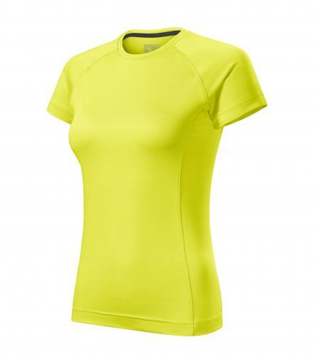 Destiny tričko dámské neon yellow