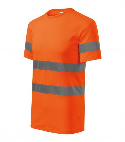 HV Protect tričko unisex fluorescenční oranžová