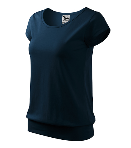 City tričko dámské námořní modrá