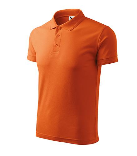 Pique Polo polokošile pánská oranžová