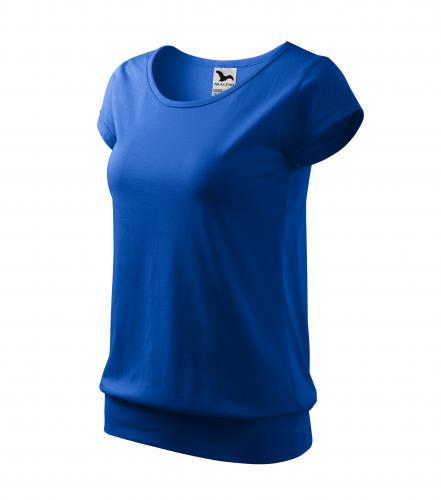 City tričko dámské královská modrá