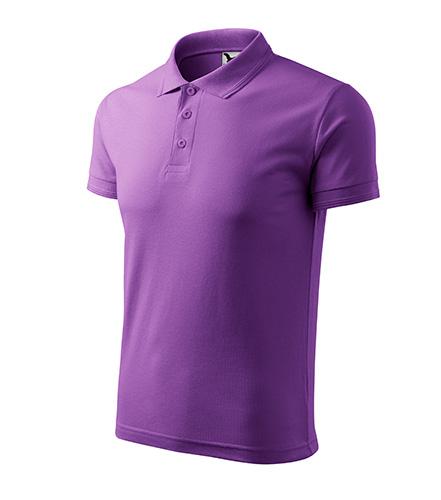 Pique Polo polokošile pánská fialová
