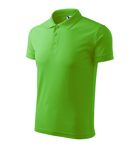 Pique Polo polokošile pánská apple green