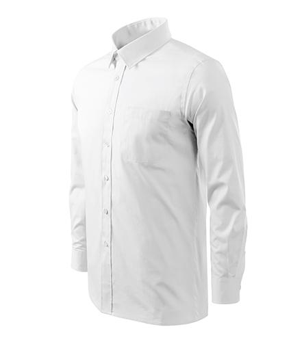 Style LS košile pánská bílá