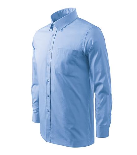 Style LS košile pánská nebesky modrá