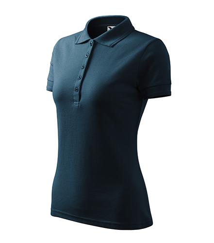 Pique Polo polokošile dámská námořní modrá
