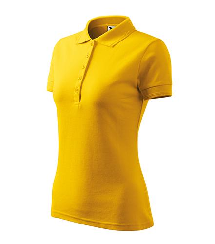 Pique Polo polokošile dámská žlutá