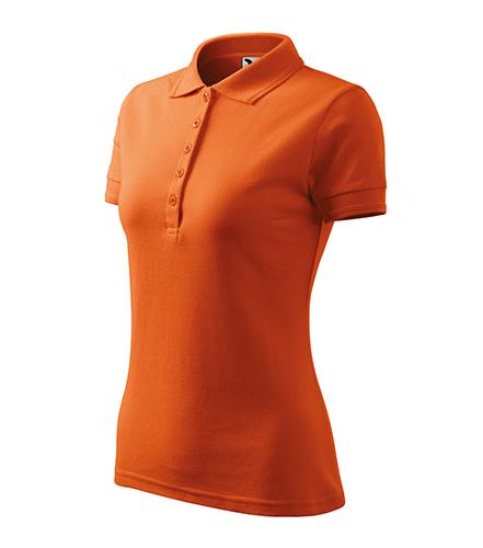 Pique Polo polokošile dámská oranžová