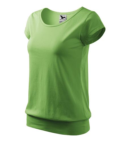 City tričko dámské trávově zelená