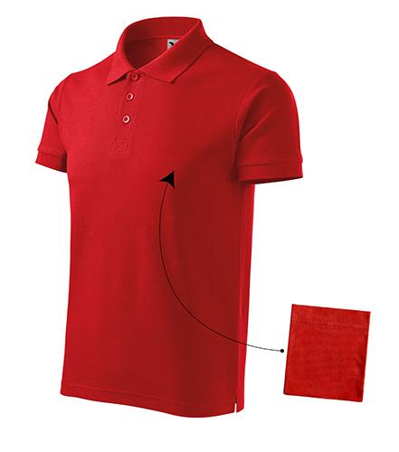 Cotton polokošile pánská červená