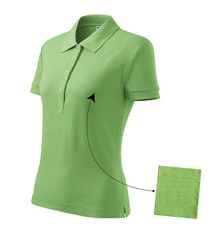 Cotton polokošile dámská trávově zelená