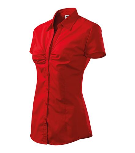 Chic košile dámská červená