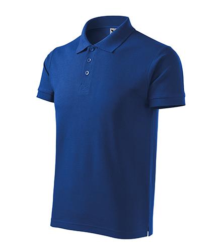 Cotton Heavy polokošile pánská královská modrá