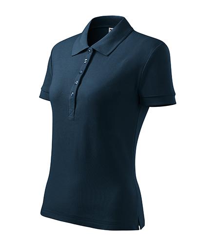 Cotton Heavy polokošile dámská námořní modrá