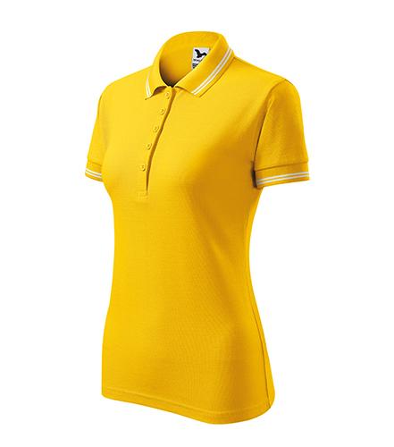 Urban polokošile dámská žlutá