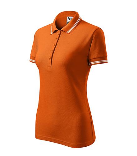 Urban polokošile dámská oranžová