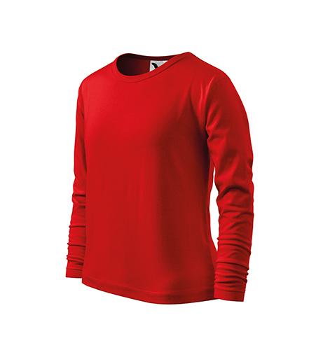 Fit-T LS triko dětské červená