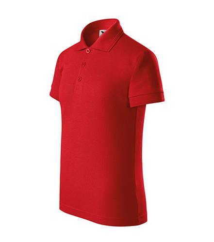 Pique Polo polokošile dětská červená