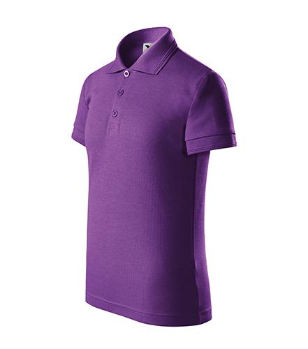 Pique Polo polokošile dětská fialová