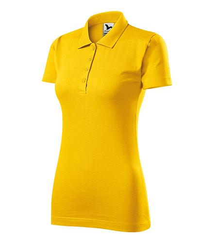 Single J. polokošile dámská žlutá