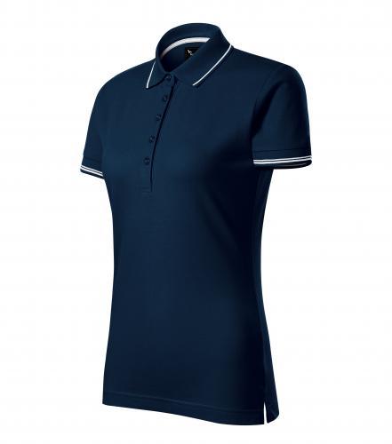 Perfection plain polokošile dámská námořní modrá