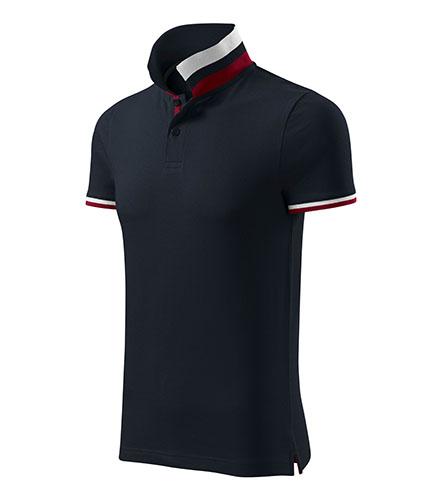 Collar Up polokošile pánská dark navy