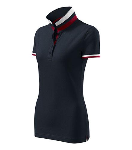 Collar Up polokošile dámská dark navy