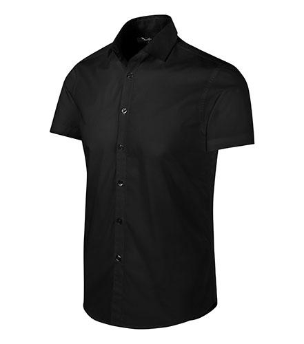 Flash košile pánská černá