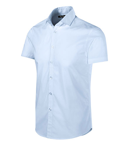 Flash košile pánská light blue