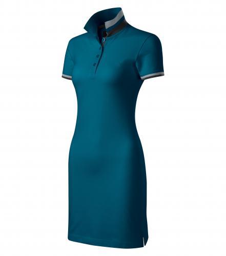 Dress up šaty dámské petrolejová
