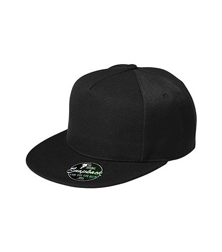 Rap 5P čepice unisex černá