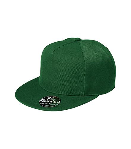 Rap 5P čepice unisex lahvově zelená