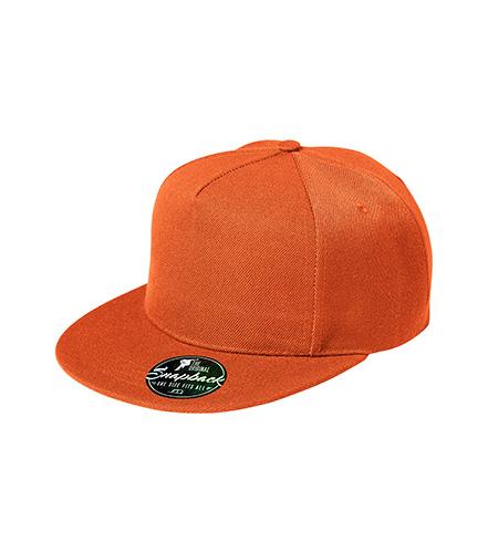 Rap 5P čepice unisex oranžová
