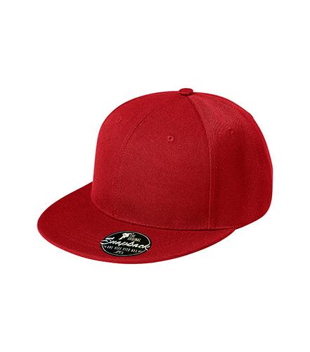 Rap 6P čepice unisex červená