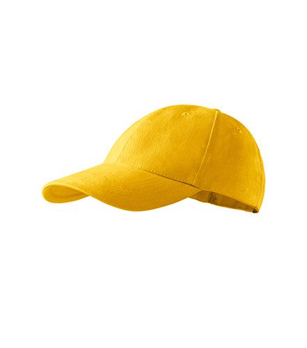 6P Kids čepice dětská žlutá