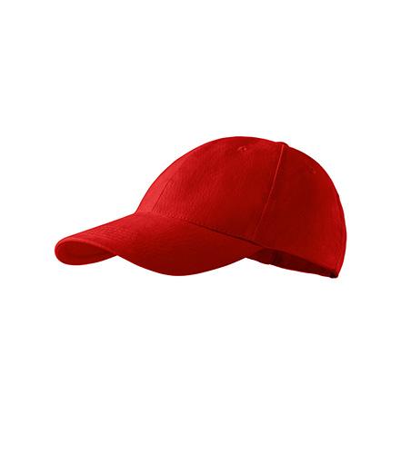 6P Kids čepice dětská červená